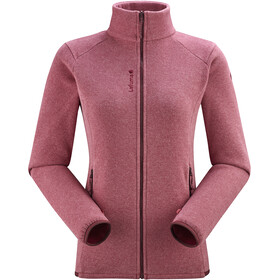 Lafuma Techfleece Full-Zip Jacket Women, carmin red